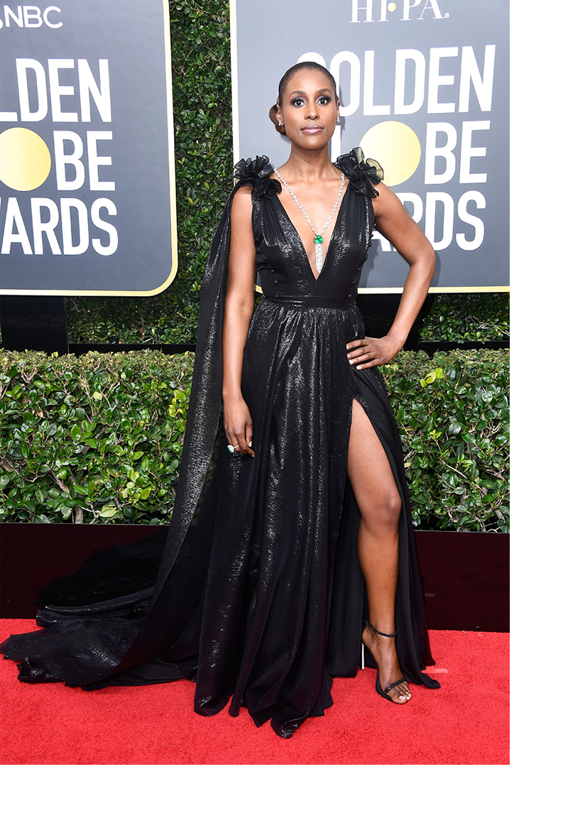 why we wear black 2018 golden globes issa rae