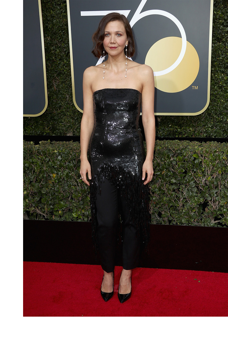 why we wear black 2018 golden globes maggie gyllenhaal