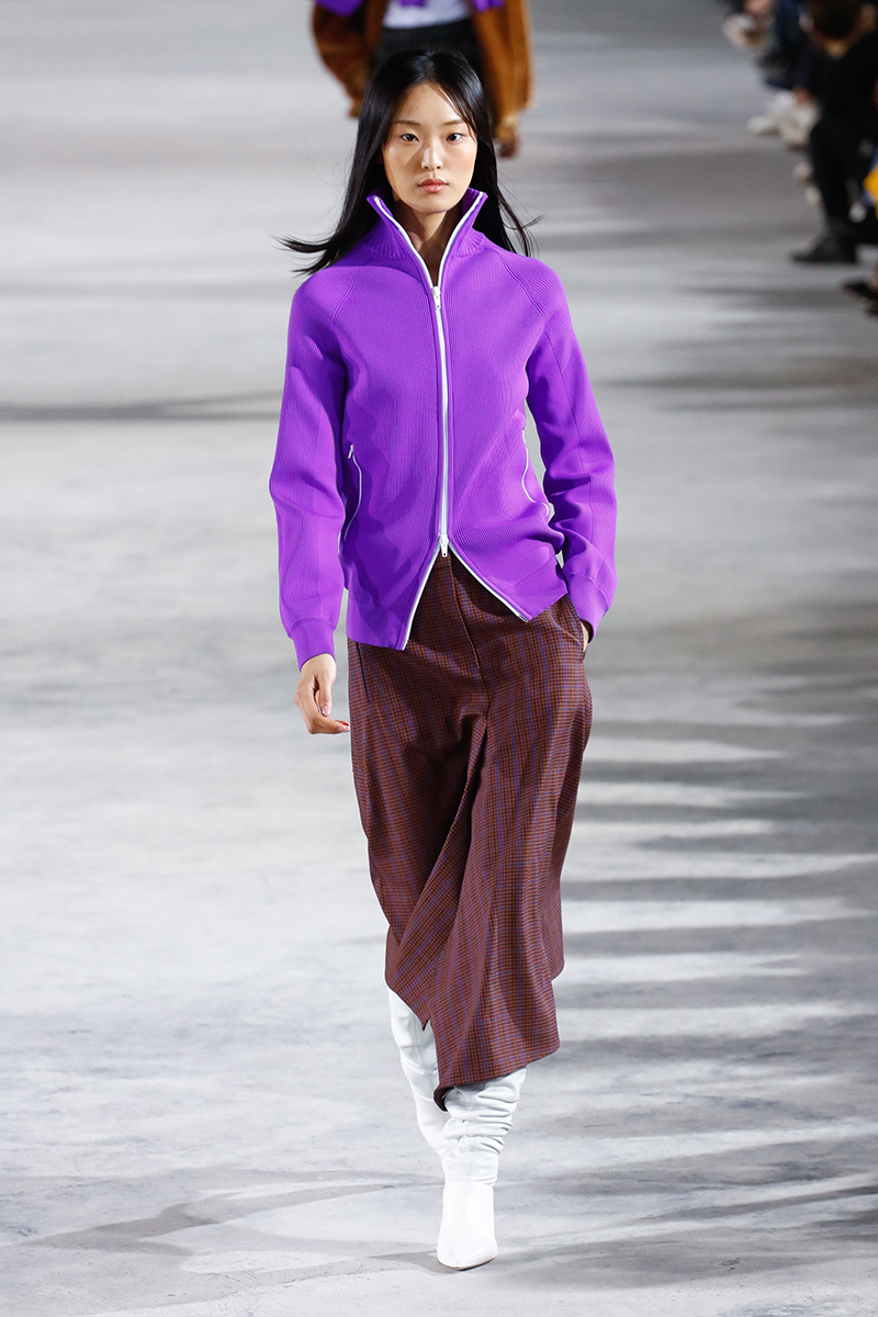 tibi fall 2018 track jacket