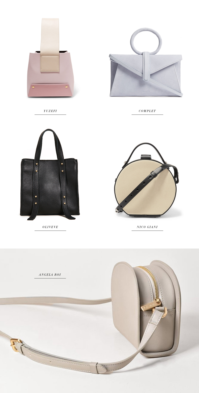 bags under 500 angela roi nico giani complet