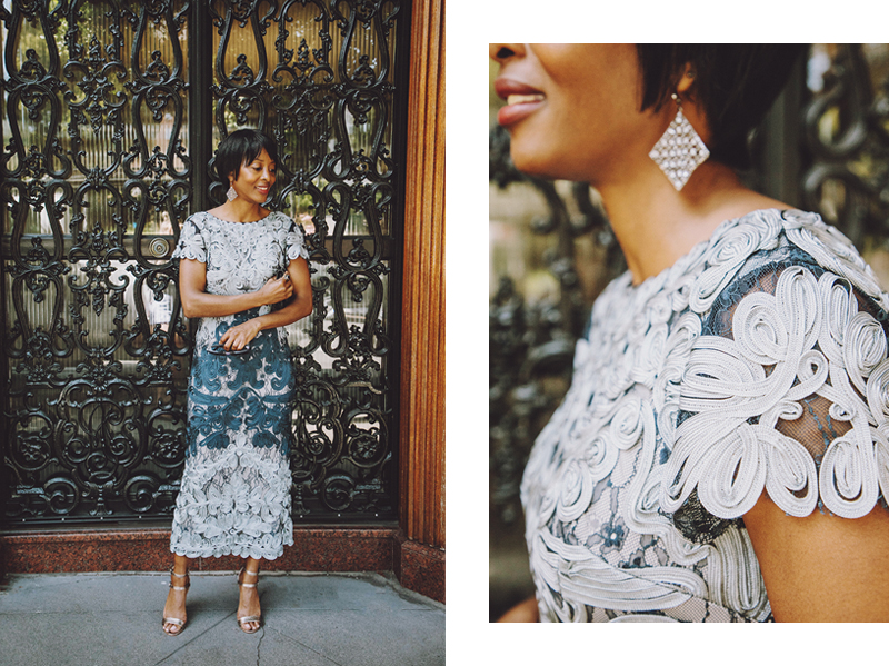 bhldn js collection blue lace dress special occasion