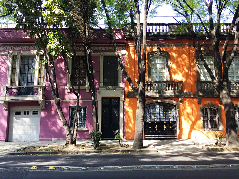 jadore couture mexico city roma norte colorful houses