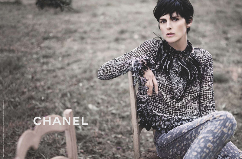 chanel spring 2011 advertising stella tennant
