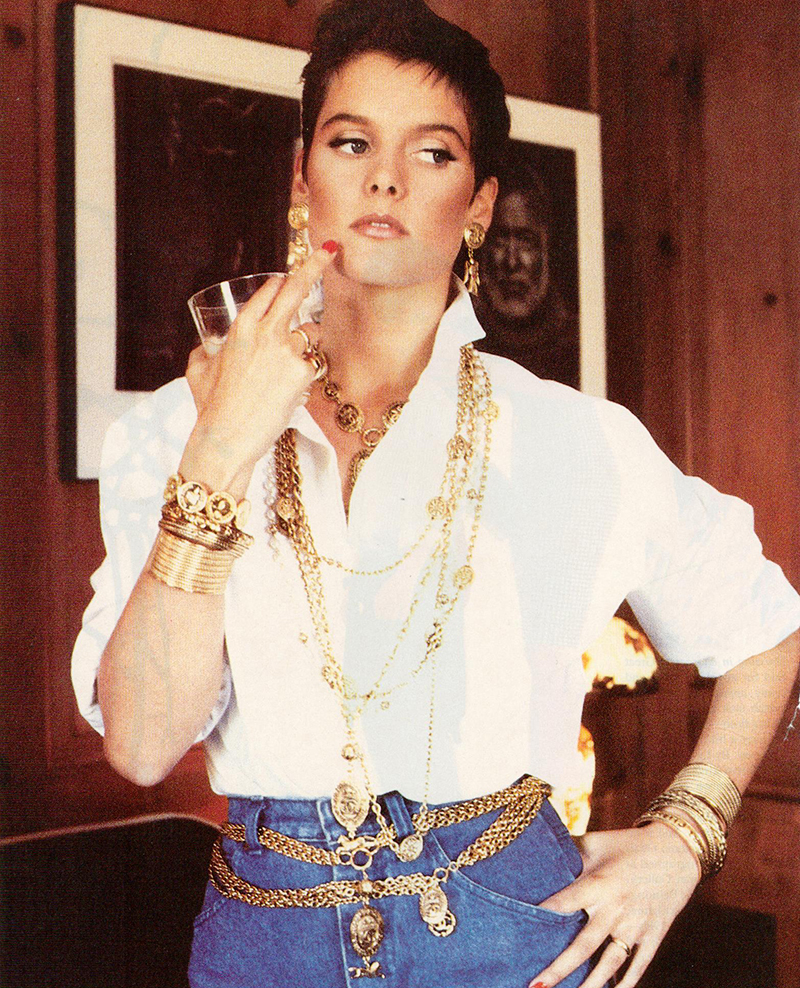 chanel advertising carey lowell 80s
