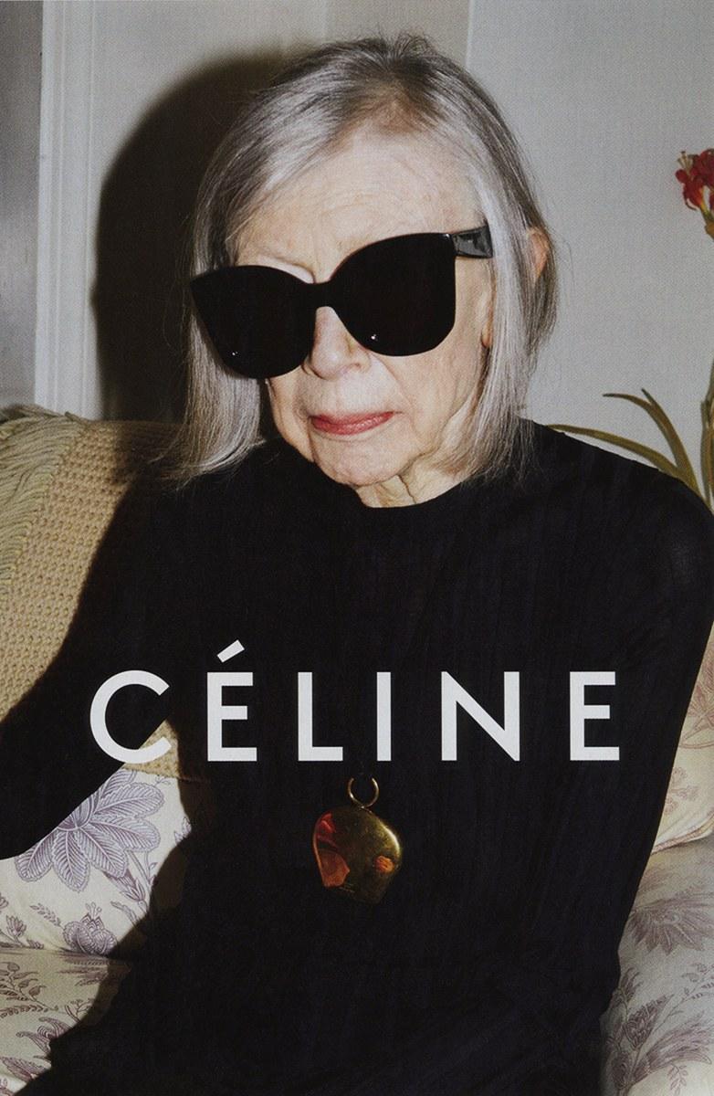celine spring 2015 ad campaign joan didion