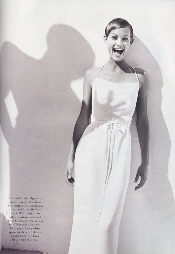 amber valletta harpers bazaar may 1993