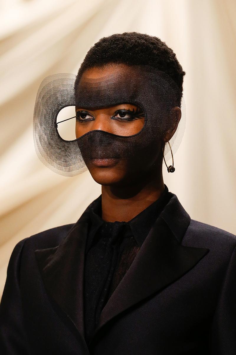 dior haute couture mask surrealism