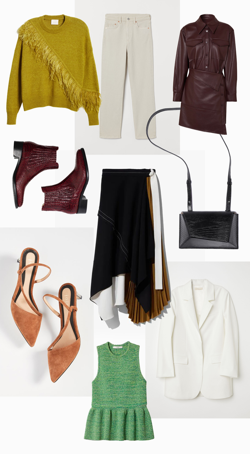 fall wishlist joie shoes angela scott booties tibi tweed top proenza schouler skirt