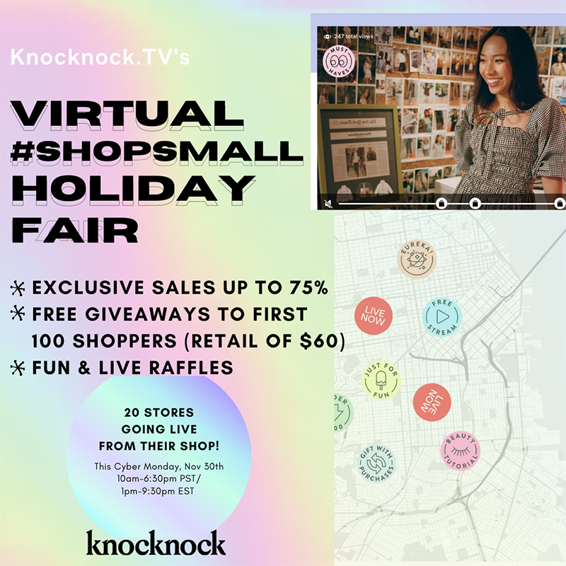 knocknock virtual holiday fair