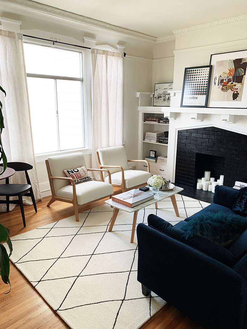 j'adore couture allmodern living room reveal